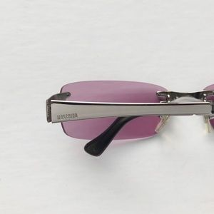 Vintage Moschino Rimless Sunglasses